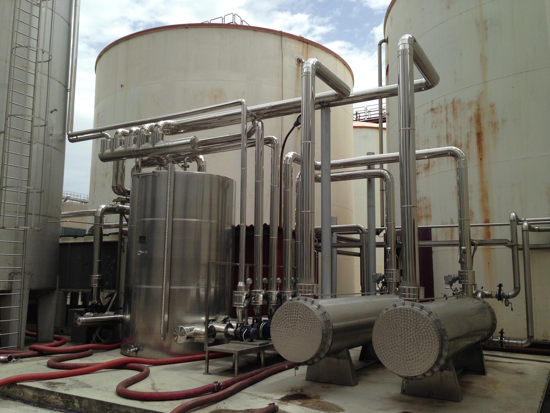 tubazione al servizio di impianto di refrigerazione (la stessa foto la trovi per l'impiantistica)